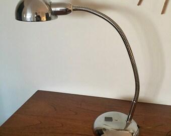 Lamp Jumo 210 industrial 50cm vintage 1960