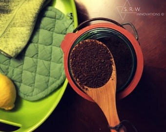 Hand Made Wood Coffe Measuring Spoon Scoop