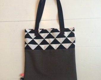 Shopper bag, shopping bag, foldable bag