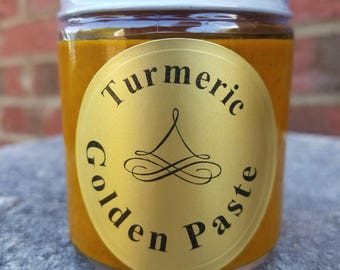 4oz Turmeric Golden Paste