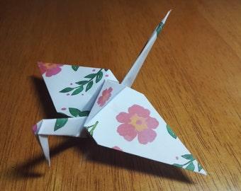 20 Origami Crane Wedding Favors Baby Girl P1/4