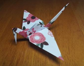20 Origami Crane Wedding Favors Baby Girl P1/8