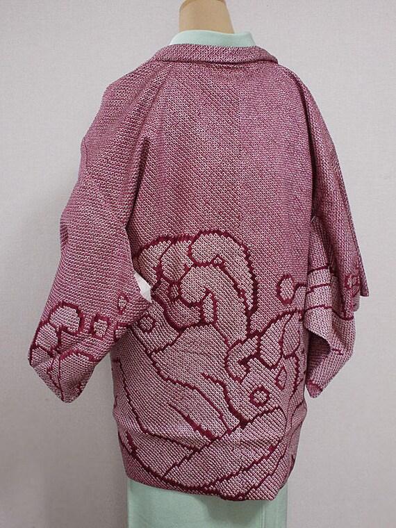 veste kimono haori japonais de seconde main pour femmes. Black Bedroom Furniture Sets. Home Design Ideas