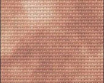 FABRIC FLAIR Maple Bacon Aida 16 count 18 x 19 FREE Needle/Needle Threader