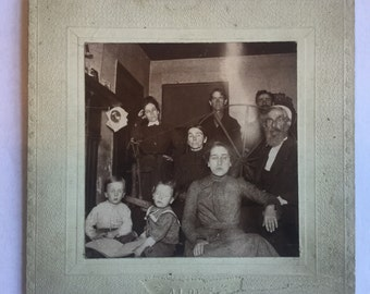 Ghost Photograph, St. Louis House, Ghost Image, Ca: 1890.