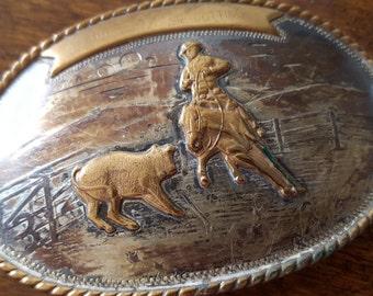 Comstock Silver Belt Buckle