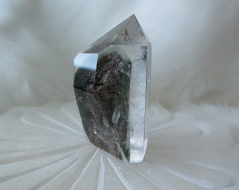 53g Freeform Lodolite / Garden Quartz with Chlorite Phantom - ITEM #142 - 4.9 x 2.5 x 2.6cm