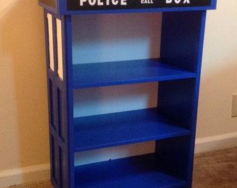 Doctor Who Tardis Bookshelf. Bookcase