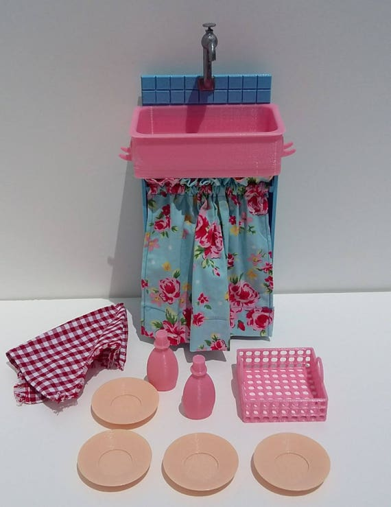 Kitchen sink for 18 inch dolls