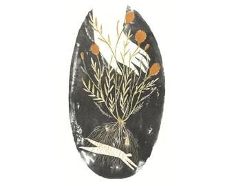 Marigold root magic lithograph print (limited run)