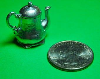 Miniature Metal Tea Pot