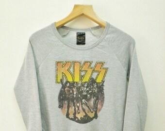 Vintage Kiss Band Gene Simmons Sweater Sweatshirt