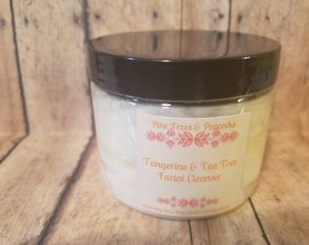 Tangerine Tea Tree Facial Cleanser