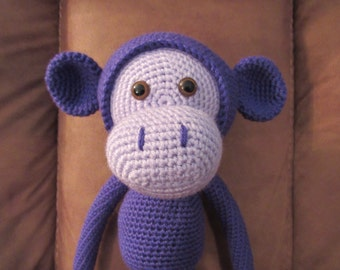 Mike the Monkey Amigurumi