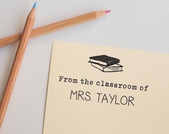 Classroom Stamp, Custom Teacher Gift, Teacher Appreciation Gift, Teacher Appreciation Week, From the classroom of stamp, Classroom Tool