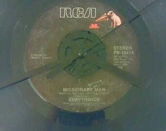 Eurythmics 45 Record Clock - Missionary Man