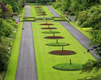 Seaton Park in Aberdeen - Scotland, Park, Red, Green, Aberdeen, Trees, Seaton Park, Scotland