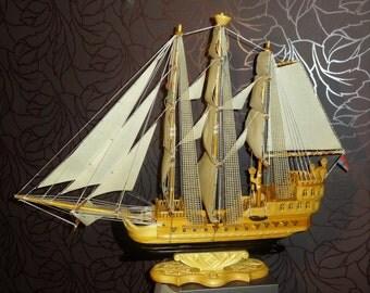 Handmade ship, Unique galleon, Wooden model ship, Old ship, Ship model, Boat model, Pirate ship, Sailing ship, Sailing boat