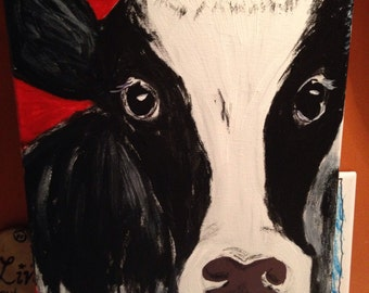 Holly the Holstein Cow