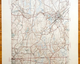 Bellingham Map Etsy - Us geological topographic maps