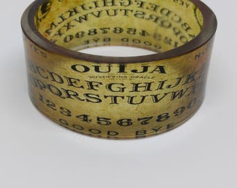 Ouija Board Resin Bangle
