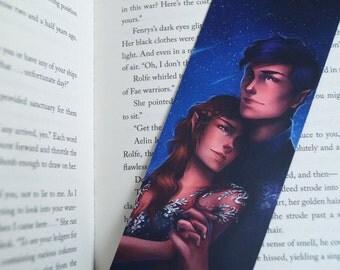 Rhys and Feyre 'Starfall' bookmark
