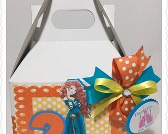 6 Princess Merida Inspired Treats Boxes