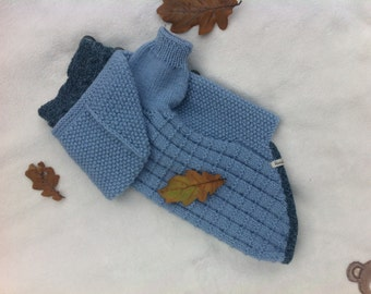 Coat knitting for a dog or cat
