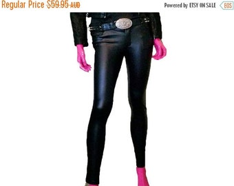 ON SALE Faux Leather Pants