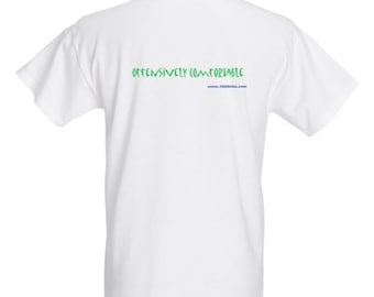 """100% Cotton Short Sleeve AhhSoles """"Offensively Comfortable"""" T Shirt"""