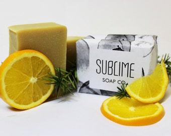 Bergamot + Orange Soap