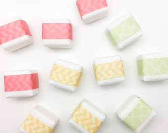 Custom 1oz Cleansing Cubes in sets of 15