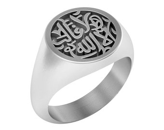 Personalized Signet Ring in Sterling Silver Metal, Custom Arabic Name Ring, Custom Signet Ring, Personalized Persian Name Ring, Man Ring