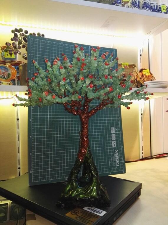 Gemstones Wire Tree Bonsai - 2000 beads