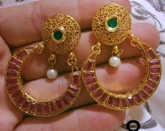 Indian Earrings jhumkas