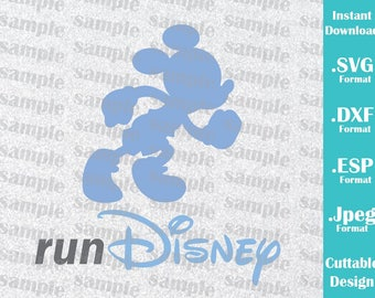 INSTANT DOWNLOAD SVG Disney Inspired Mickey Mouse Disney for Cutting Machines Svg, Esp, Dxf and Jpeg Format Cricut Silhouette