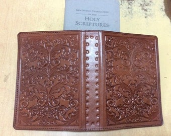 Jehovah's Witnesses. Bible cover. new world translation. Leather. normal size