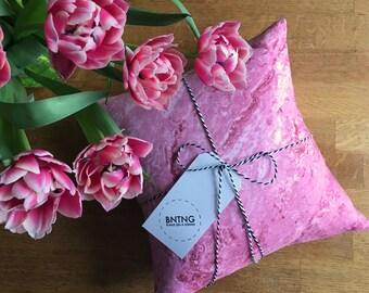 Cushty Cushion Bundle - Pink Marble 30cm x 30cm Pillow - Handmade by BNTNG