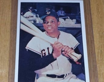 Vintage WILLIE MAYS Giants 1979 TCMA #6 Gd-Vg