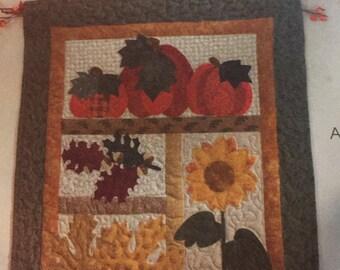 McCall's craft pattern 4611 Harvest Sampler