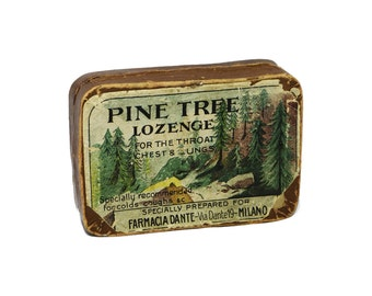 Pine Tree Lozegne paper box