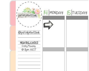 CLOSING SALE - 50% OFF - Arrow Planner Stickers (FS137)