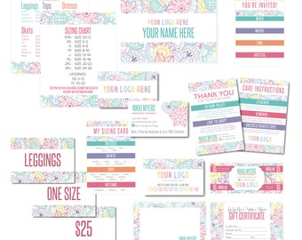 Deluxe Business Marketing Kit Digital Files-Customized