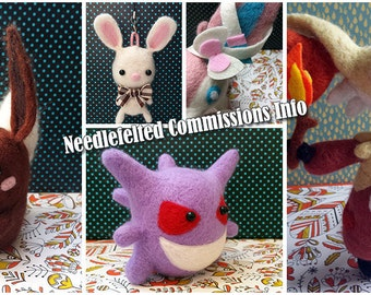 Needlefelted Commisions (Made to Order)