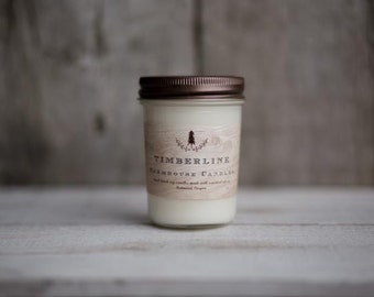 Timberline Soy Wax Candle