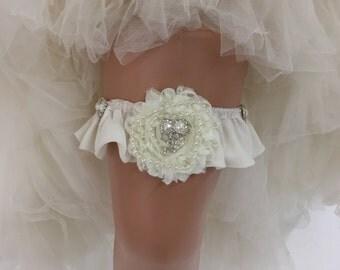 Chloe - Glamorous Bling Bridal Wedding Garter