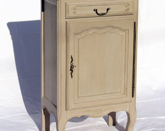 Jam Cabinet 1 door 1 drawer oak