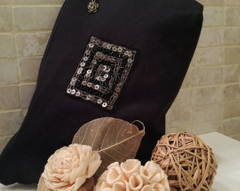 Elegant, handmade clutch bag, handbag