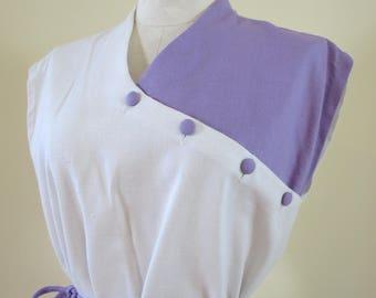 1960's Vintage Color Block Wiggle Dress