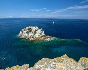 La Barca - Travel photo - Elba photo - sea photography - summer photo - summer photography - Tuscany - Elba Island